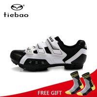 Buty Tiebao górskie MTB jazda na rowerze rower buty męskie oddychające Self Lock rowerów sportowe buty wyścigowe Zapatillas Zapato Ciclismo w Buty rowerowe od Sport i rozrywka na
