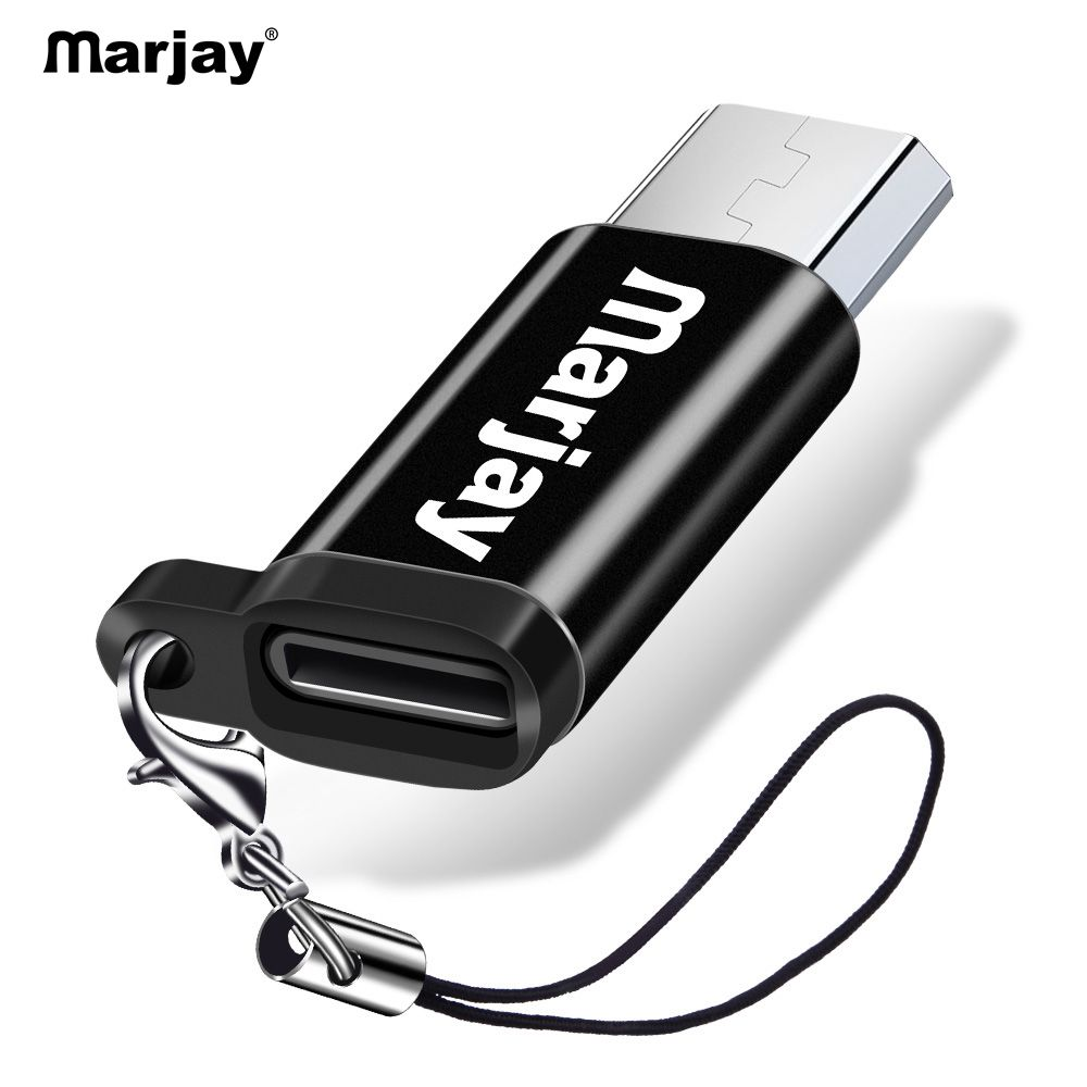 Marjay OTG Micro USB Adapter To Type-C OTG USB C Cable Microusb Adapter For Samsung Xiaomi Huawei Android Smart Phones Micro-usb