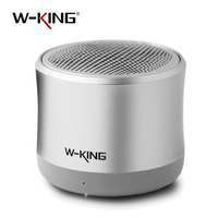 W King Mini Speaker Wireless Portable Waterproof Stereo Music Outdoor Speaker Bluetooth AUX TF Card in for Mobile Phone