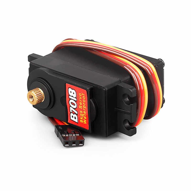 BSD Racing B7018 9 KG เกียร์โลหะทั้งหมด Servo สำหรับ 1/8 1/10 Rc รถชุด
