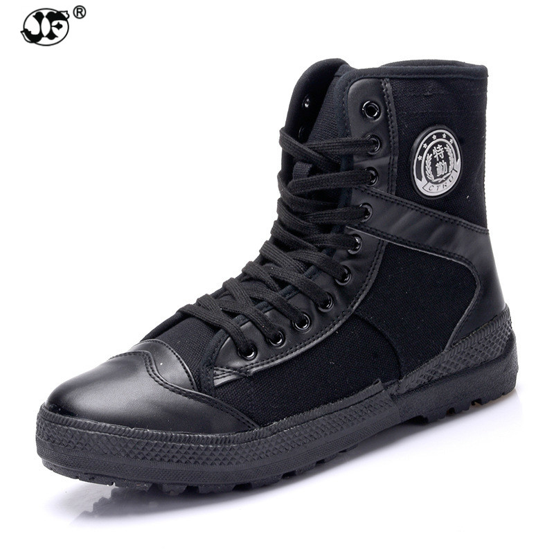 New Arrive Men Causal Shoes Autumn Winter Front Lace-Up Leather Ankle Boots Shoes Man Casual High Top Canvas Men mulinsen new arrive 2017 autumn winter men