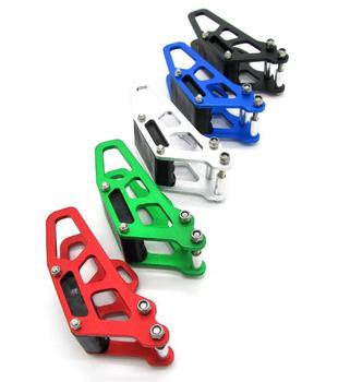 Prowadnica łańcucha przenośnik łańcuchowy urządzenie modyfikacja motocykla części prowadnica łańcucha s łańcuch podtrzymujący motocykl szosoway tanie i dobre opinie 13 5cm Zestawy łańcuchowe 19cm 0 2kg Chain Drag aluminium alloy