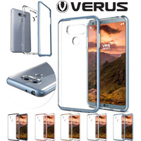 Original VERUS For LG G6 Case Crystal Slim Fit Hard Frame Clear Silicone Back Hybrid Shockproof