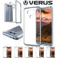 Original VERUS For LG G6 Case Crystal Slim Fit Hard Frame Clear Silicone Back Hybrid Shockproof