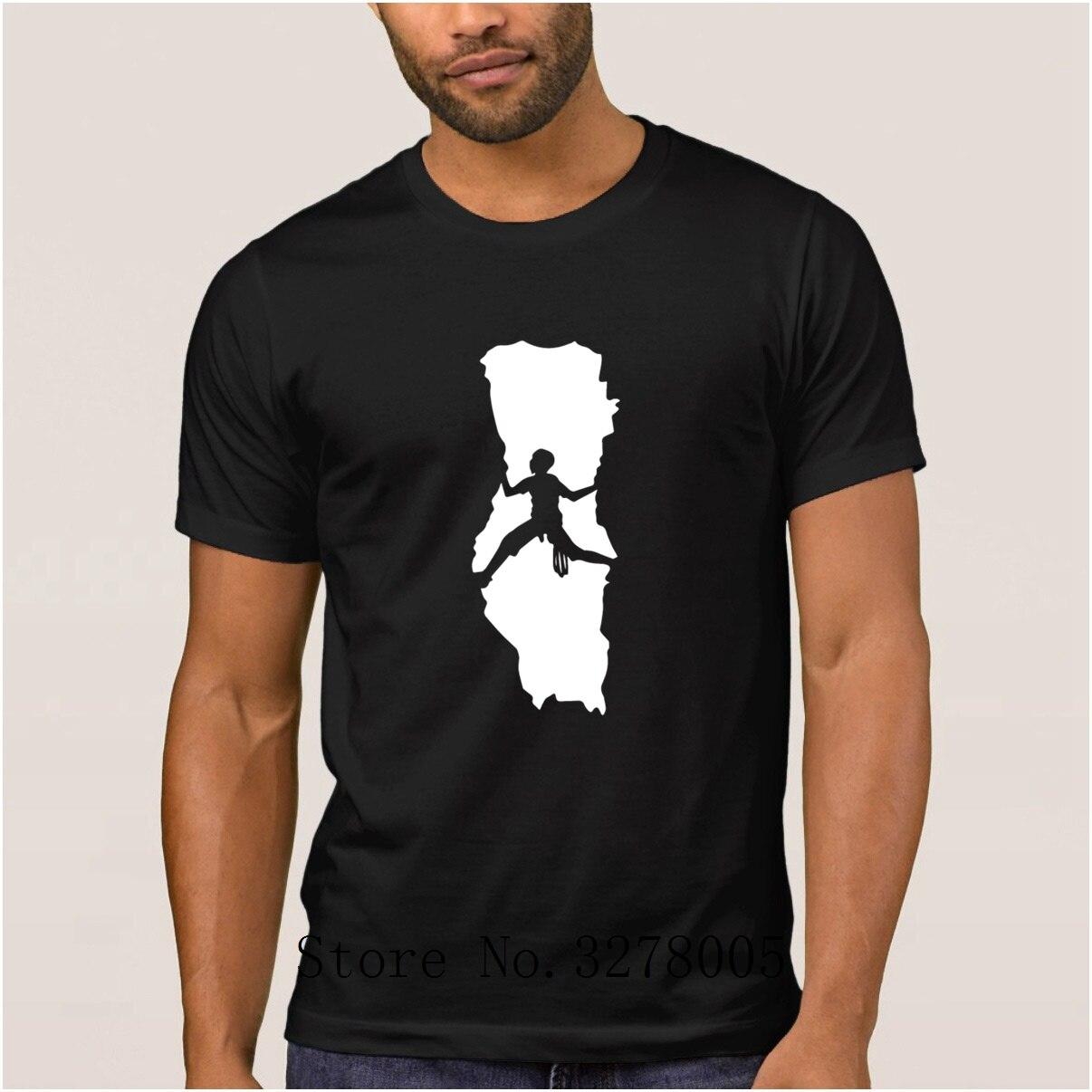 Create Own New Style Casual Rock Climbings T Shirt Men Trend Spring Men's T-Shirt Mens Streetwear Cotton Tee Shirt Man Sale