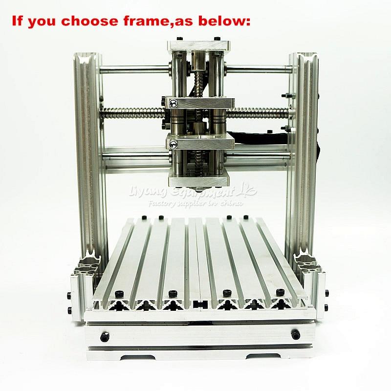 CNC Engraving Machine Frame 3060 DIY CNC Suitable For wood Router 6030 diy cnc 3060 engraving machine 400w wood milling router 6030 ball screw cutting engraver lathe frame