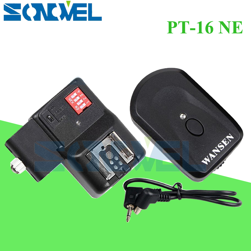 PT 16 NE 16 Channels Wireless Radio Flash Trigger With Umbrella Holder For Yongnuo YN568EX II