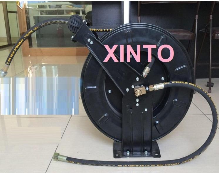 1013m high pressure water hose reel automatic retractable reel plumbing hoseschina - Retractable Hose Reel