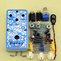 NEW DIY Electric Guitar Delay analog Effect Pedal guitarra delay with 1590B  High Quality  Delay -1 pedals Effect  kits