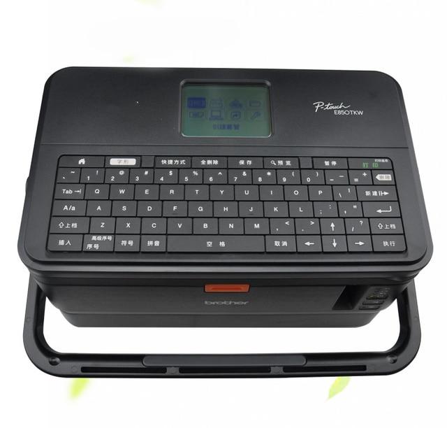 Etiketleme makinesi Etiket Hattı Numarası PT E800T/E800TK Hattı Numarası PT E850TKW Basılabilir Kablosuz Bağlantı