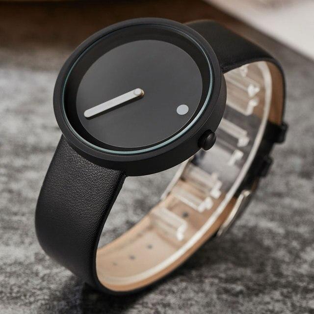 Creative Unique Simple Quartz Fashion Watches Cool Minimalist Style Wristwatch S