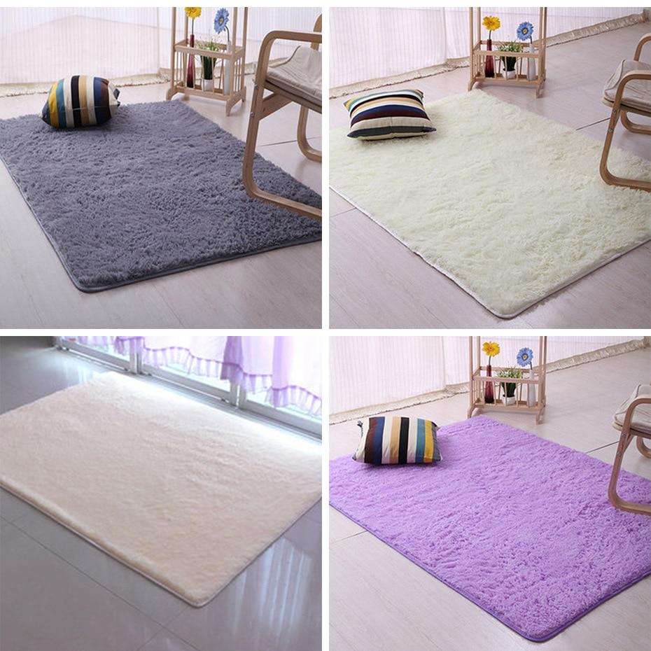 Alfombras Tapete Peluc Bedroom Living Room Floor Mats Doormat ...