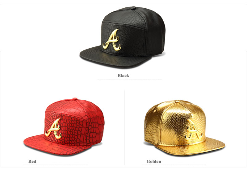 black snapback hat A_03