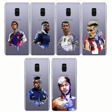 Ronaldo Messi Neymar Football Barcelona Soccer  Soft Silicone Phone Cases Cover For Samsung A6 2018 S10 PLUS Lite