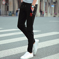 2016 explosion models selling fashion fabric cotton casual pants Wei pants / cotton / Korean / feet pants /  pants man
