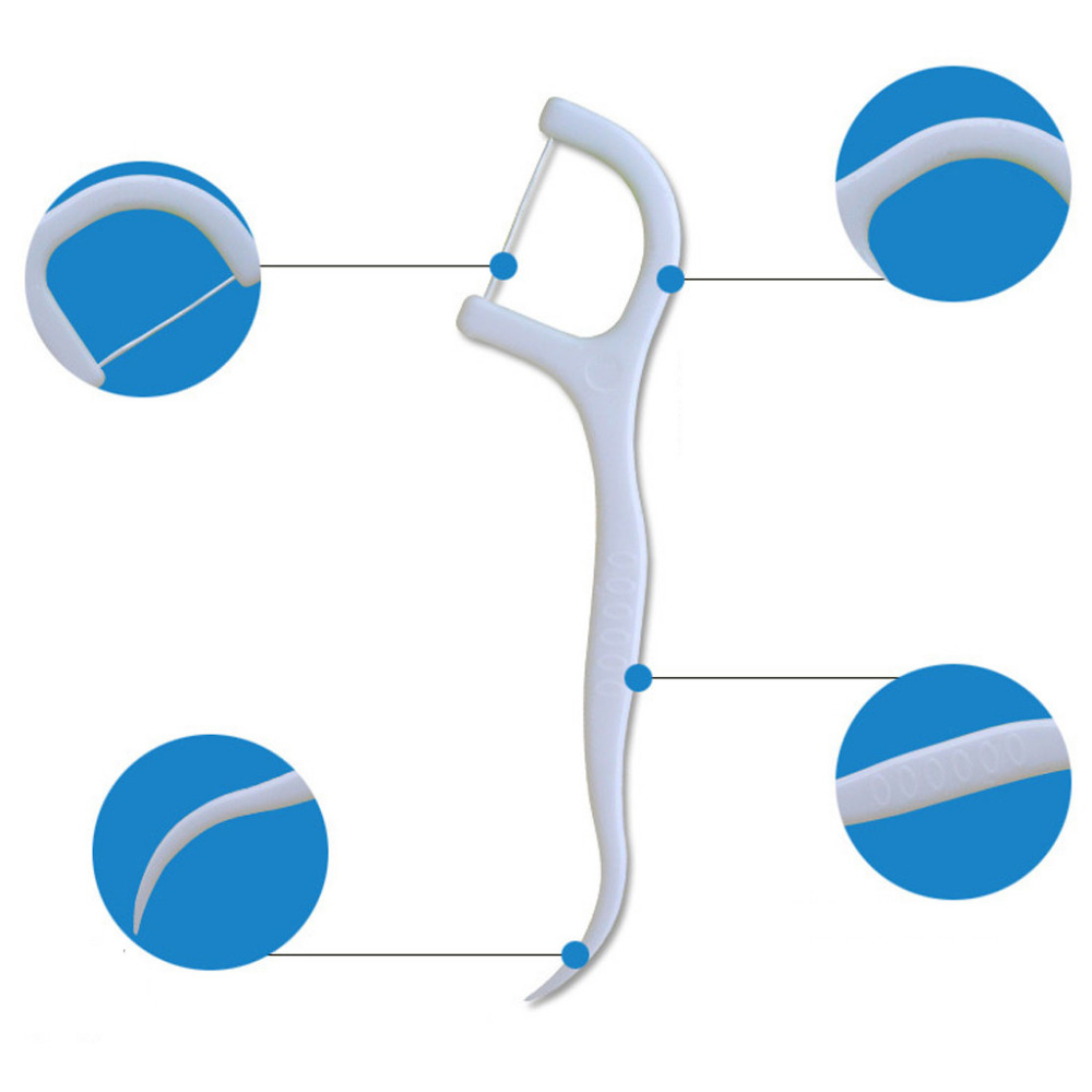 Sanft 10 Teile/schachtel Zahnseide Zähne Stick Zahn Pick Interdentalbürsten Zähne Sauber Zahnstocher Flosser Toolclean Mundpflege 7,6 Cm 12 #25 Schönheit & Gesundheit