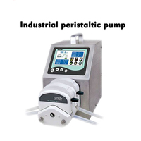 110V / 220V Industrial Peristaltic Pump With LCD Display 2 * YZ1515x