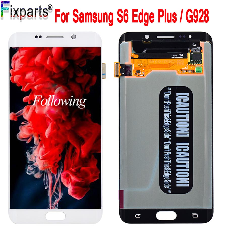 5.7FHD For SAMSUNG GALAXY S6 EDGE Plus G928 G928F LCD Display Touch Screen Digitizer For Samsung S6 Edge Plus LCD Edge+ Replace5.7FHD For SAMSUNG GALAXY S6 EDGE Plus G928 G928F LCD Display Touch Screen Digitizer For Samsung S6 Edge Plus LCD Edge+ Replace