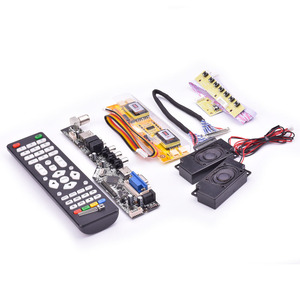Image 5 - V53 Universal TV LCD 10 42 นิ้วLVDSบอร์ดทีวีVGA AV HDMI USB DS v53RL.BKชุดเต็มสำหรับLTM190M2