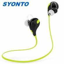 SYONTO QY7 V4.1 Stereo Sports Sem Fio Fone De Ouvido Bluetooth Fone de Ouvido de ALTA FIDELIDADE In Ear Earbud Fone de Ouvido Para O Telefone Móvel