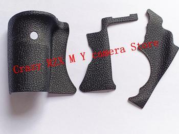 NUOVO Originale Di UNA Serie Di Corpo Rubber Grip In Gomma Pollice In Gomma Per Canon 7D Unità Di Ricambio Parti Di Riparazione