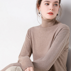 2019 Autumn Winter sweater women turtleneck cashmere sweater  knitted pullover women sweter fashion sweaters new Plus Size tops 2