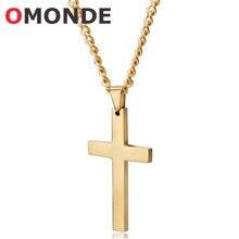 0ab8f394f5e9 Jesús Cruz colgante collar para hombres de 50 cm de largo de cadenas de  enlace Christian crucifijo de oro de plata de Color negr.