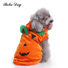 Bebo Dog Clothes Cute Pumpkin Chihuahua Dog Sweater Pet Dog Costume Warm Coat Jacket for Dogs Cats Hoodies Festival Pet Clothes
