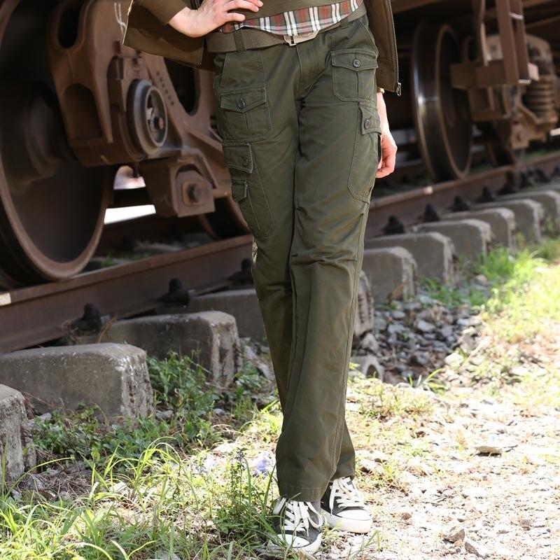 Brand Capri   Pants   Wide Leg Women Trousers Cotton   Pants   Branded Baggy   Pants   &   Capris   Plus Size Army Green Trousers Women Gk-919