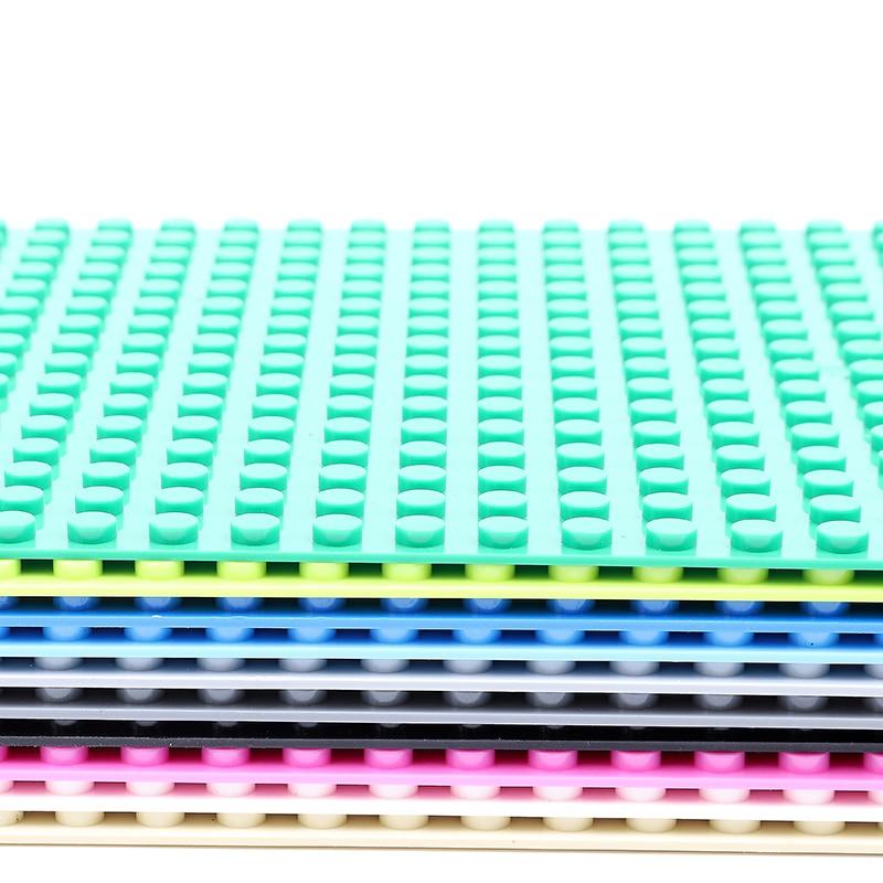 Classic Base Plates Plastic Bricks Baseplates Compatible Legoing City Dimensions Building Blocks Construction Toys 32*32 Dots