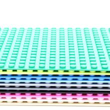 Klasyczne płyty bazowe plastikowe cegły płyty bazowe kompatybilne Legoing City wymiary klocki klocki 32 * 32dots tanie tanio keep away fire Unisex 6 lat Bloki Plastic Toys for Kids Children Christmas Gifts Boys Toy