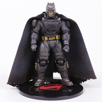 MEZCO TOYZ Batman v Superman Dawn of Justice Armored Batman 1:12 PVC Action Figure Collectible Model Toy with LED Light