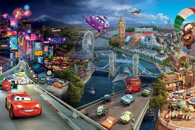 Cars 3 Cartoon Movie Poster Canvas Art Printing For Home Decor