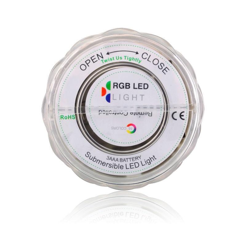 7cm promjer 3AAA akumulatorske potopne vodootporne LED svjetla s - Rasvjeta za odmor - Foto 2