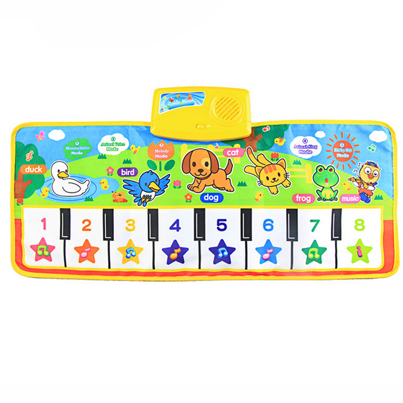 New-Great-Education-Learning-Toy-Touch-Play-Keyboard-Musical-Music-Singing-Gym-Carpet-Mat-Best-Kids-Baby-Gift-Drop-Shipping-2