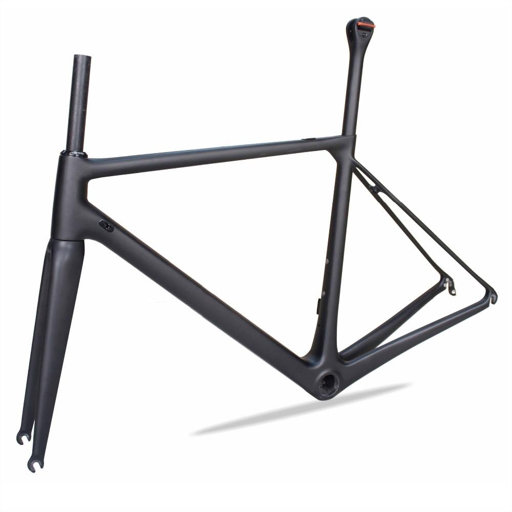 2018 Latest Design Road Bike Carbon Frame Super Light T1000 Toray HMF  Carbon Frame  Road Bike