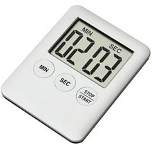 Digital Timer Clock Magnet Hour-Meter Kitchen Large LCD for Cooking Temporizador 1pc