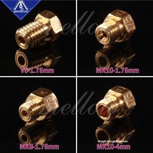 Image 4 - רך גבוהה טמפרטורת 3d מדפסת NF v6/mk10/mk8 זרבובית אודם עבור Flashforge מיקרו שוויצרי Cr10 Mk8 E3d V6 hotend