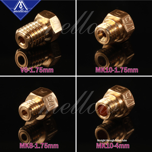 Image 4 - Êm dịu Nhiệt Độ Cao 3D Máy In NF v6/MK10/MK8 Ruby Vòi Phun Cho Flashforge Micro Thụy Sĩ Cr10 Mk8 E3d V6 hotend