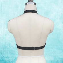 New sexy Goth Lingerie Elastic Harness cage bra 90's cupless lingerie Bondage Body harness belt O0190