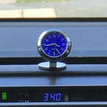 Temperature Car Ornaments Charms Interior Clock Watch Hygrom