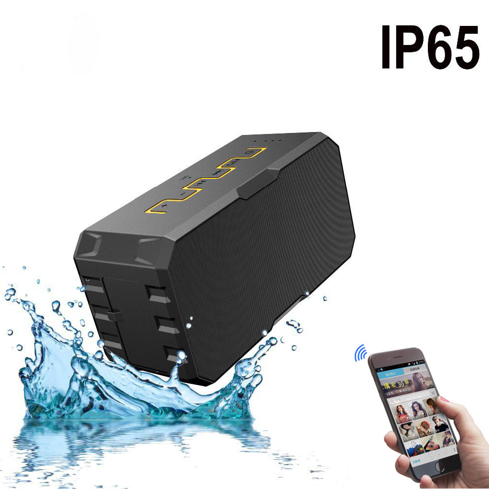 Outdoor Waterproof Mini Wireless Bluetooth Speaker With Powerbank Portable subwoofer Handsfree Sound bar for iPhone/Android 10000mah 20w outdoor cycling wireless bluetooth speaker for bike 10w 2 portable waterproof speaker subwoofer for android iphone