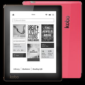 6 inch e-book Kobo Aura ebook