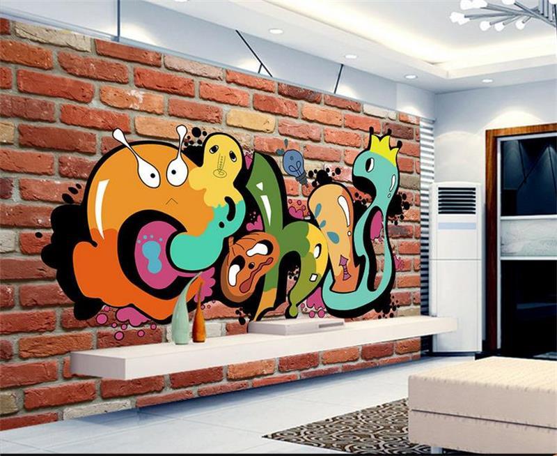 Custom 3d Photo Mural Wallpaper Non Woven Kids Room