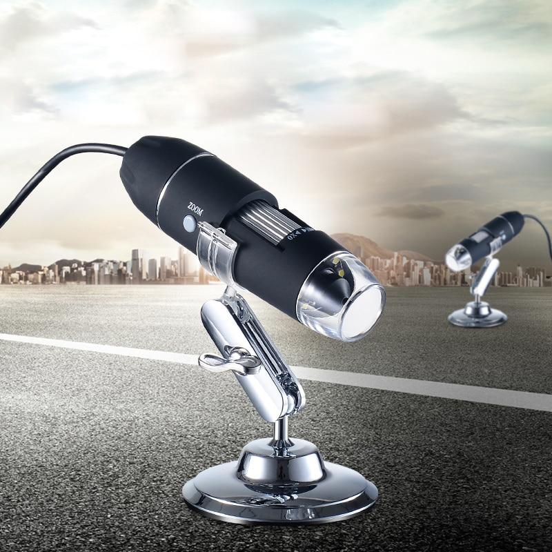 Mega píxeles 500X1000X1600X8 LED Microscopio Digital USB Microscopio Lupa Electrónica estéreo USB de la cámara del endoscopio