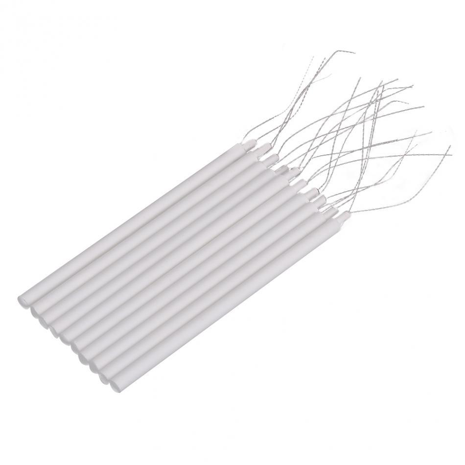 10 шт./компл. 220 В 20 Вт паяльник Нагревательный элемент 8,3*0,4 см нагреватель Core Керамика Нагревательный элемент паяльник аксессуар