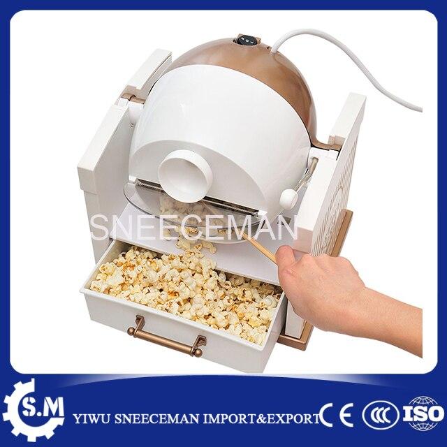 Casa automática pequeña máquina de palomitas de maíz máquina De la ...