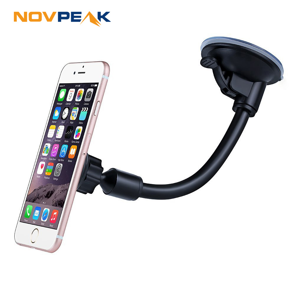Universal Magnetic Mobile Smart phone Holder Long Arm Gooseneck Magnet Car Holder Stand Mount Dock for iPhone LG Xiaomi Huawei