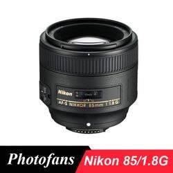 Nikon 85 1.8G obiektyw Nikkor AF-S FX 85mm f/1.8G soczewki dla Nikon D3300 D3400 D5300 D5500 D90 D7200 D500 D700 D610 D800 D810 D4 D5