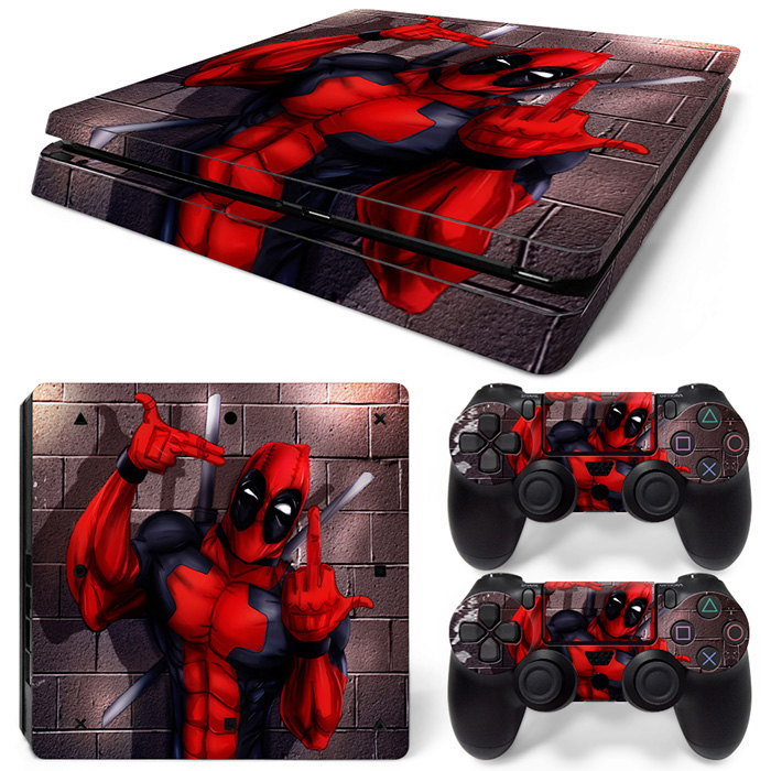 New Arrival Protective Vinyl for PS4 Slim Skin Sticker Game Decal